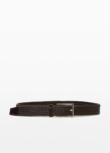 Two-colour 100% cotton belt