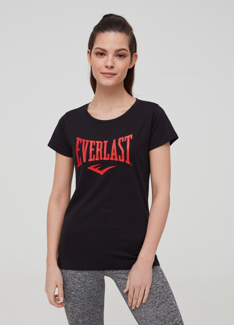 T-shirt puro cotone con stampa Everlast image number null