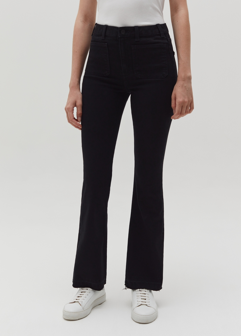 Jeans bootcut stretch image number null