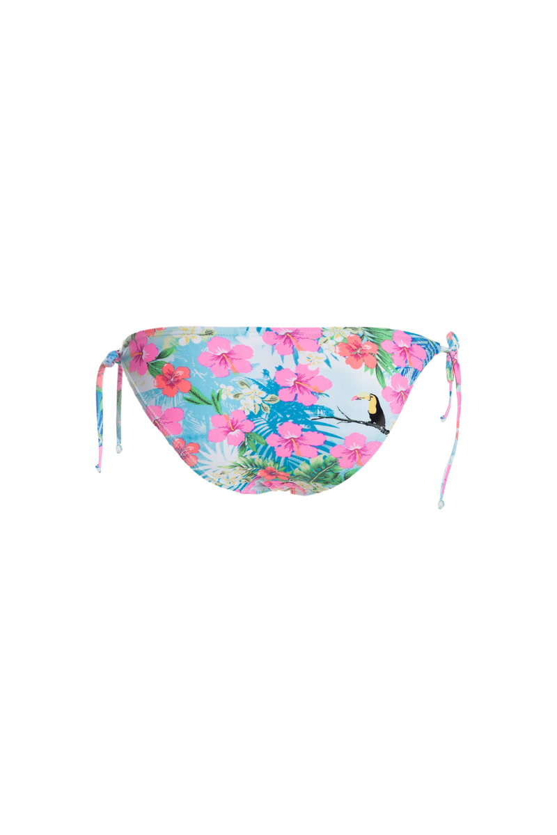 Floral bikini bottoms image number null