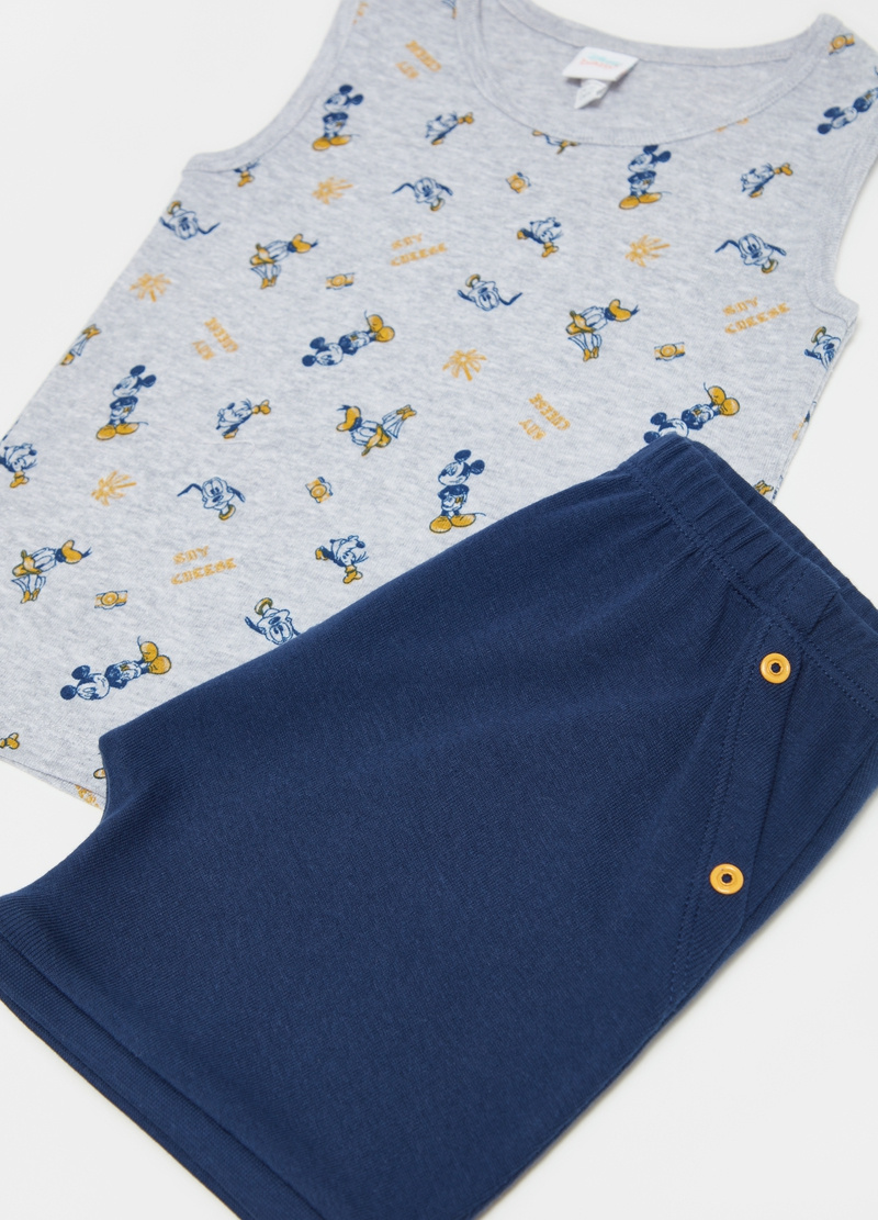 Disney Baby vest and shorts set image number null