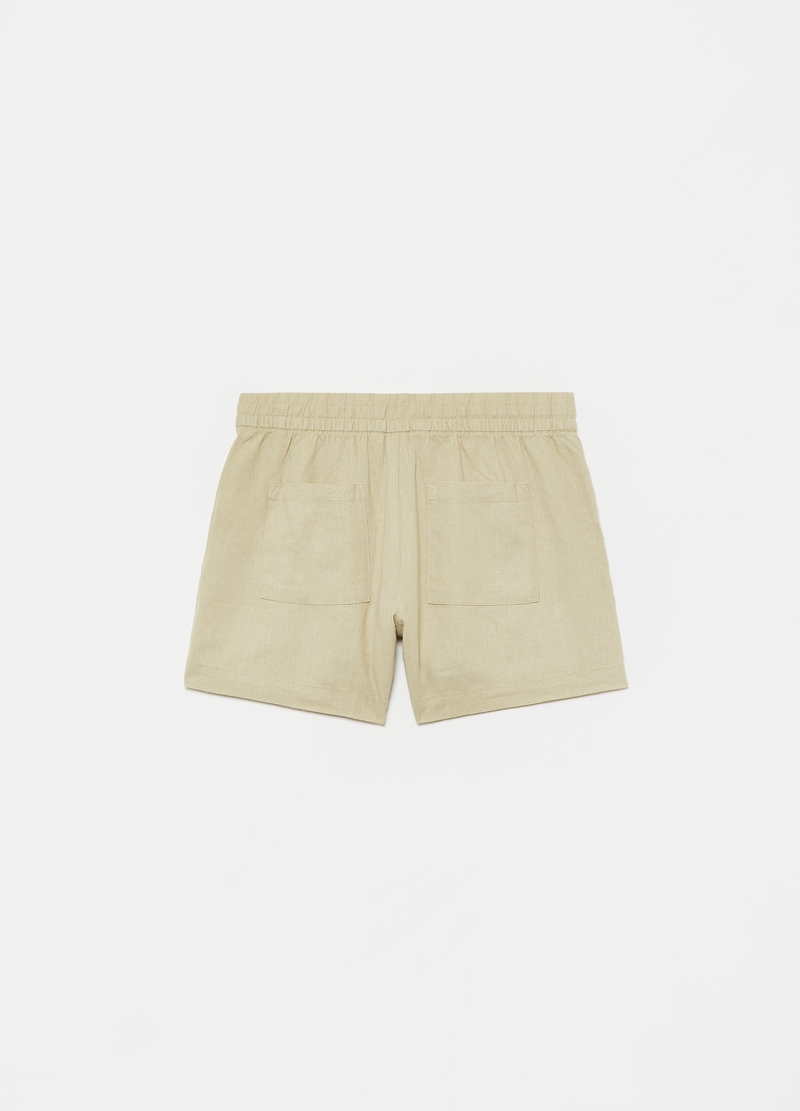GAP Bermuda shorts in cotton with drawstring image number null