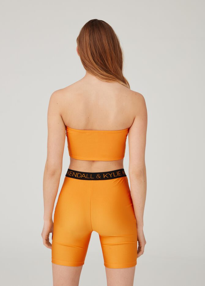 Top stretch con stampa K+K for OVS