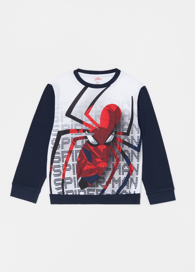 Long pyjamas with Marvel Spider-Man print image number null
