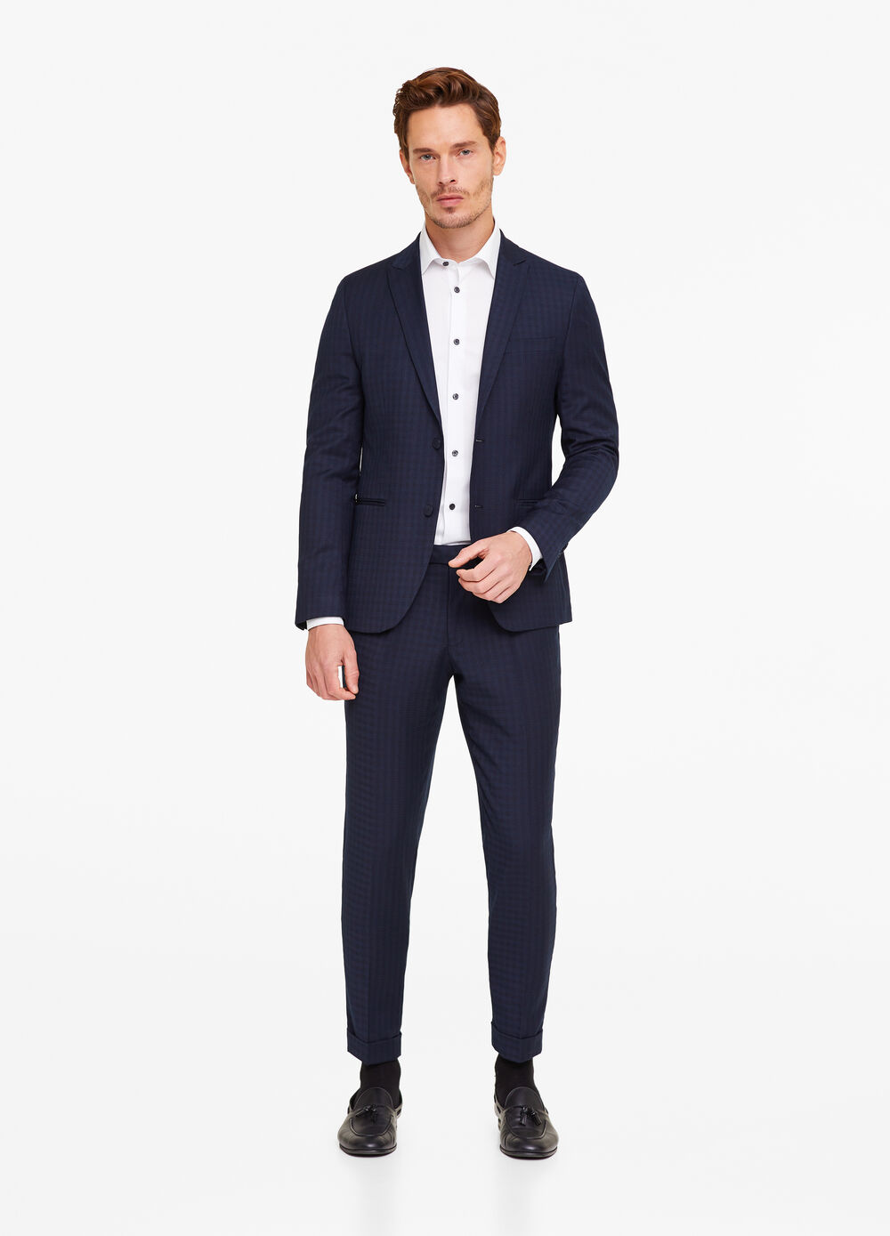 Blazer misto viscosa stretch