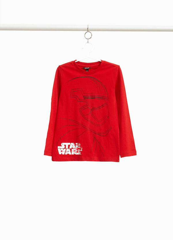 Star Wars maxi print cotton T-shirt