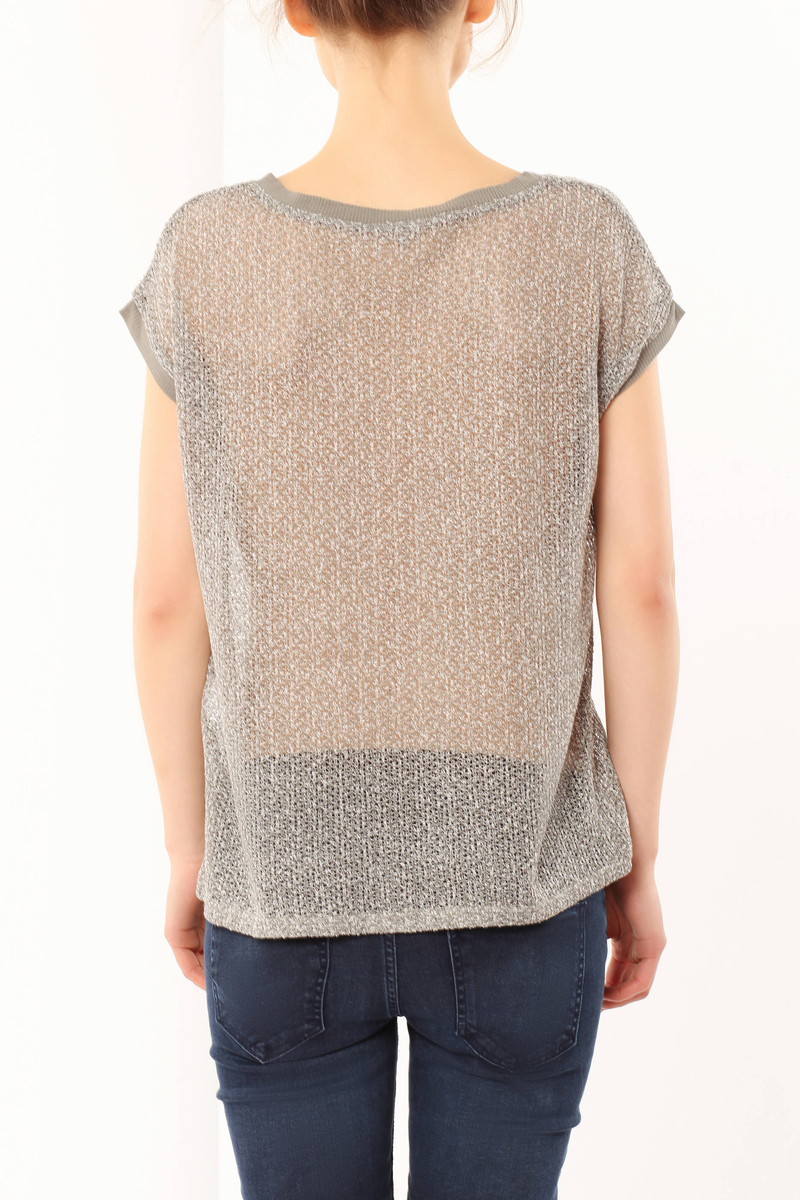 Openwork T-shirt image number null