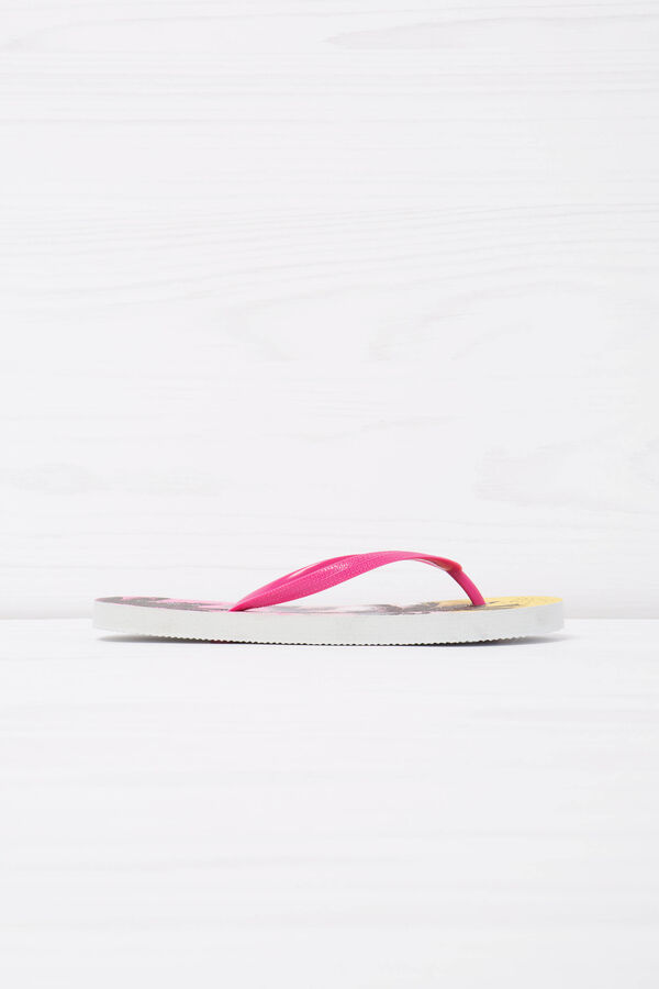 Thong sandals with palm tree print | OVS