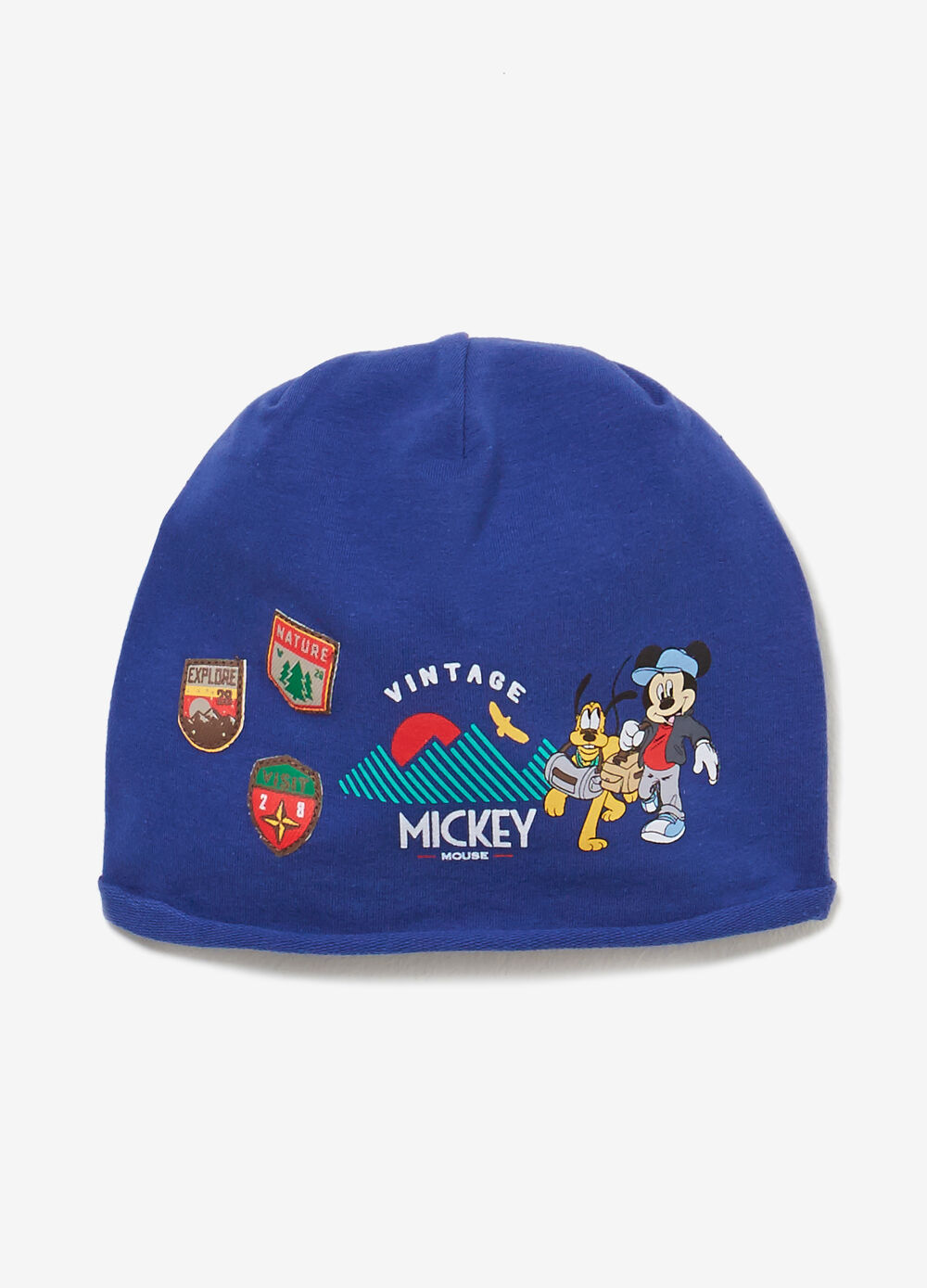 Mickey Mouse jersey beanie cap