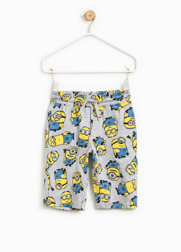 Cotton Bermuda shorts with Minions pattern | OVS