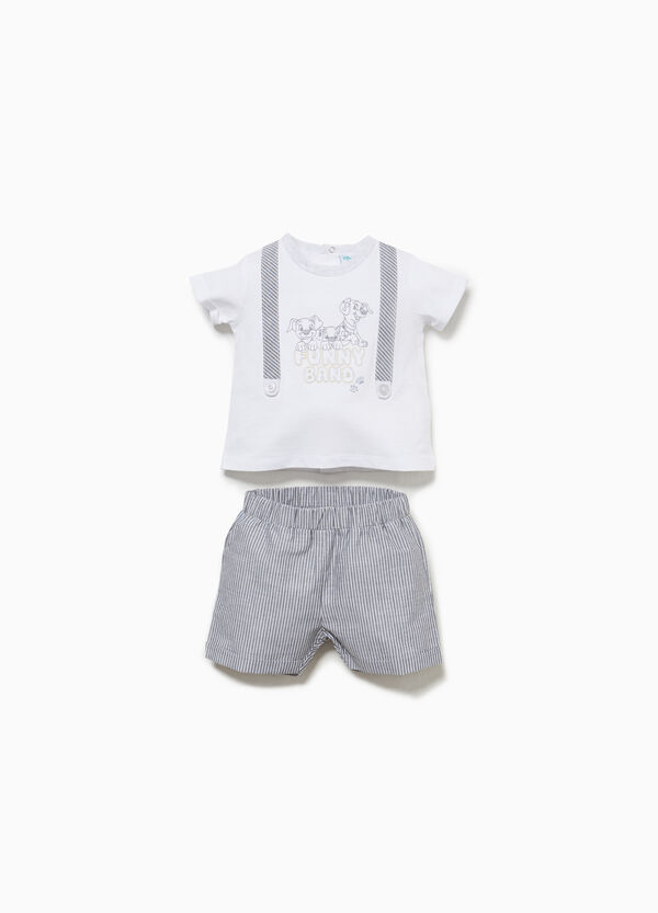 One Hundred and One Dalmatians cotton outfit