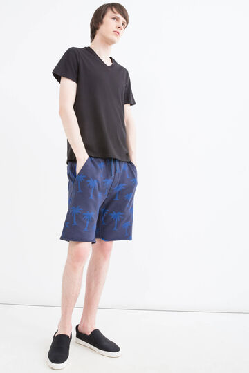 Bermuda shorts in 100% cotton with G&H pattern