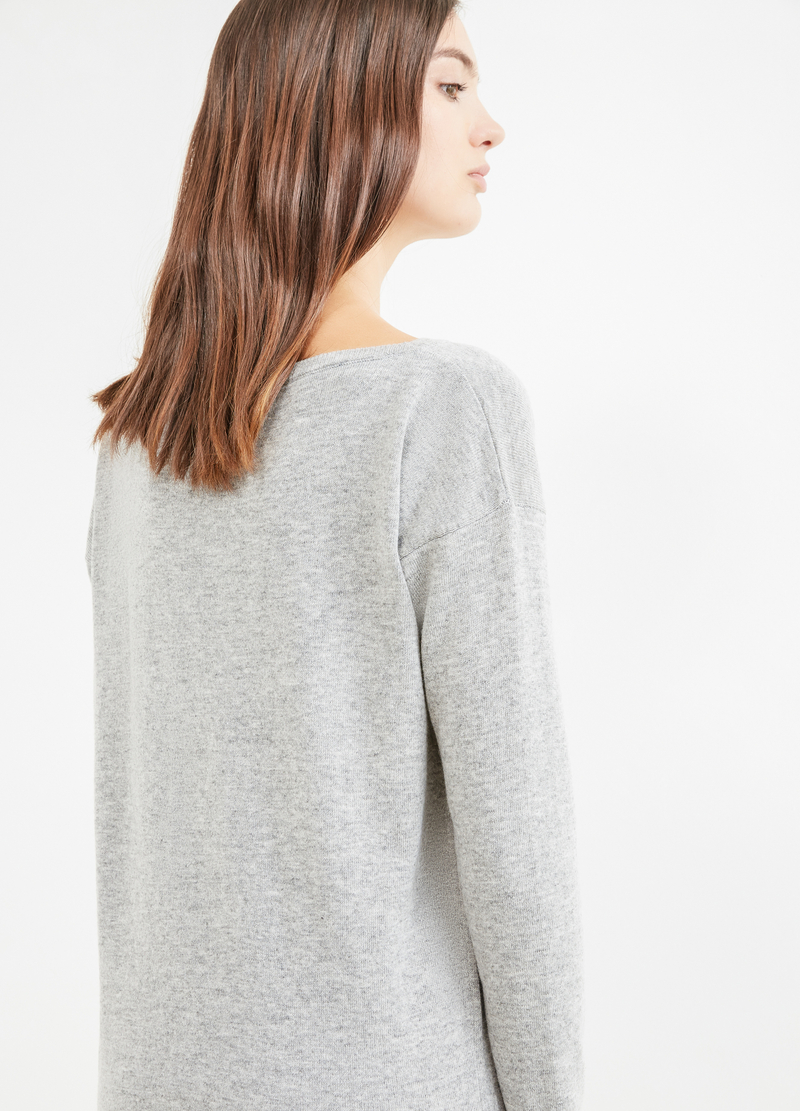 Pullover misto lana con paillettes image number null