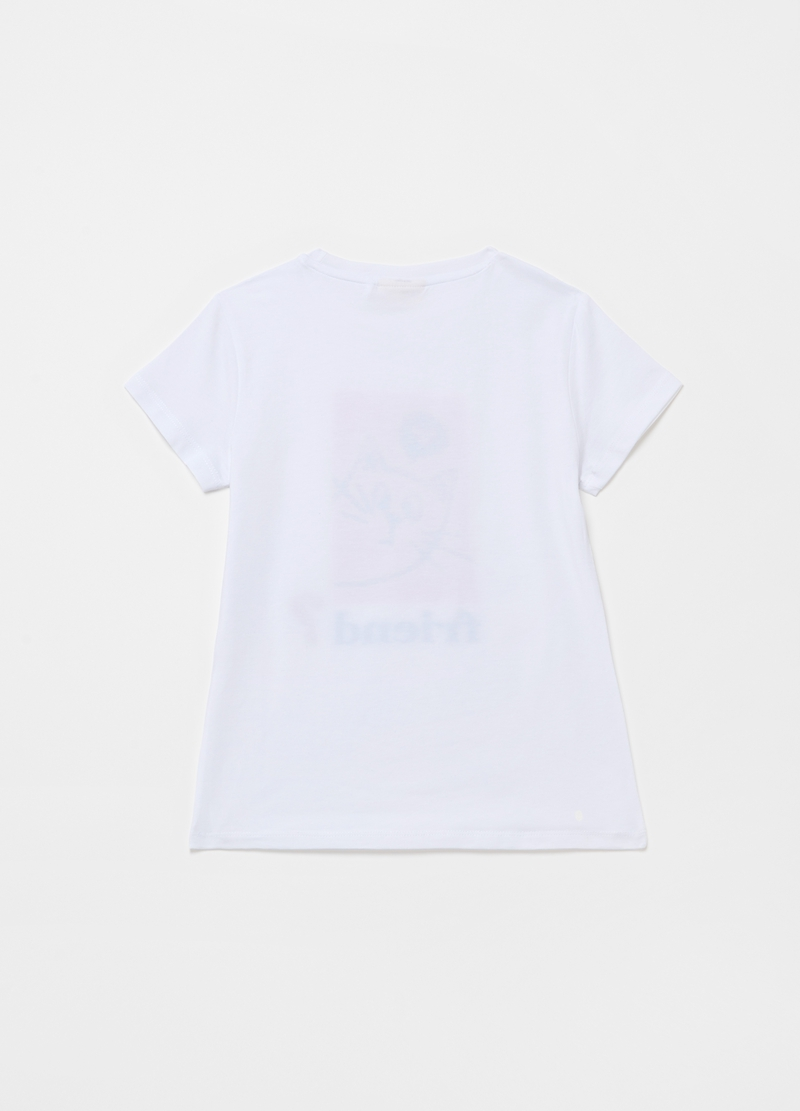T-shirt with kitten print image number null