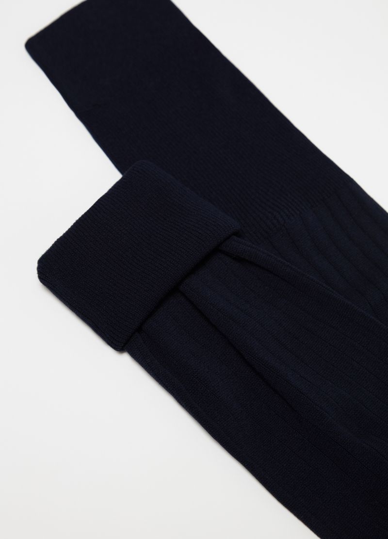 Two-pair pack long comfort socks with ribbing image number null