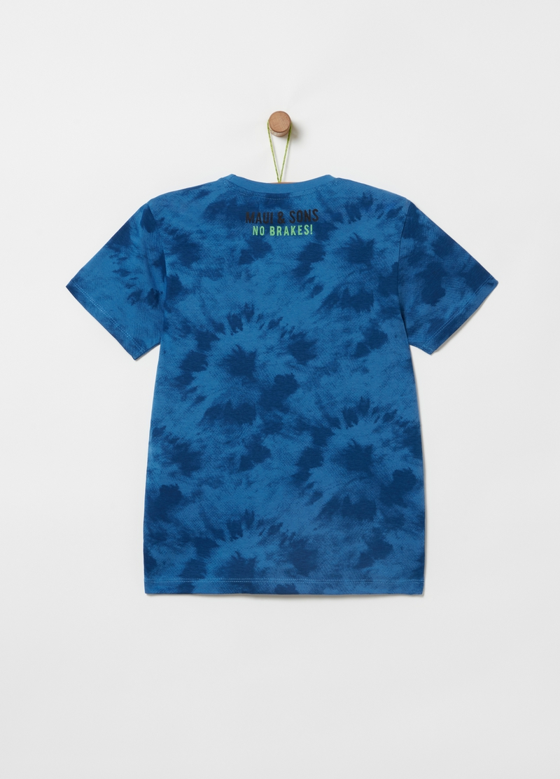 T-shirt with Maui and Sons print and pattern image number null