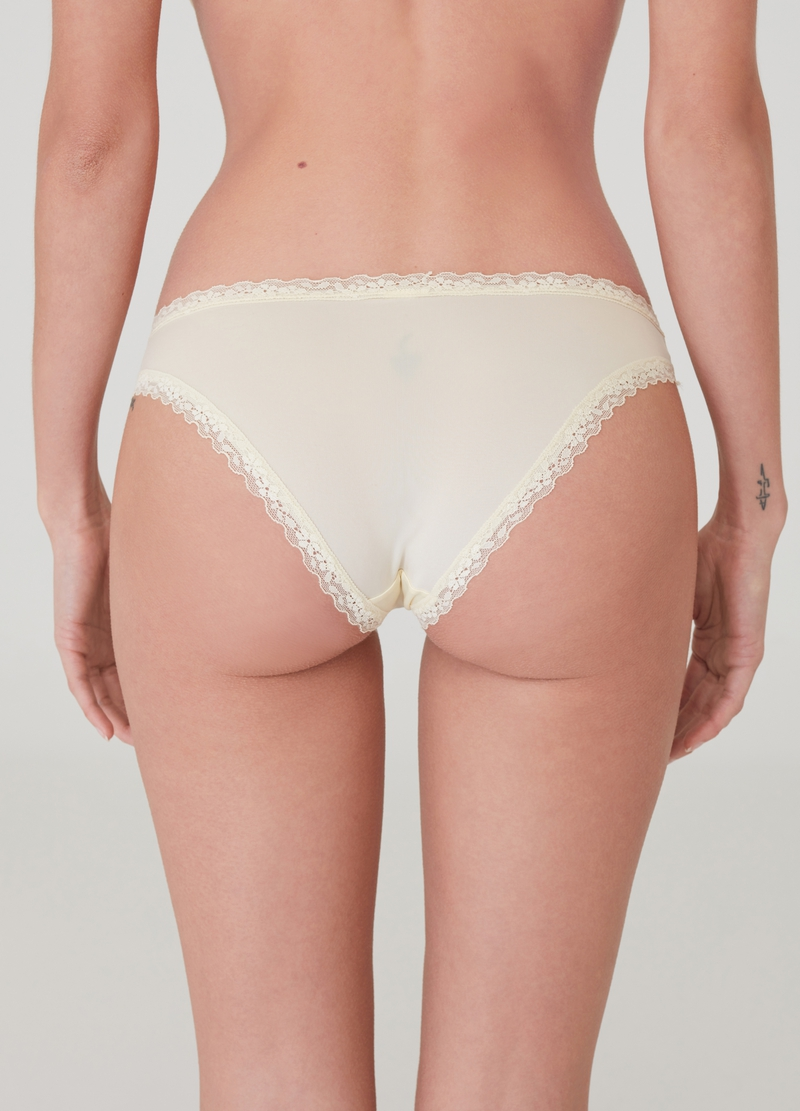 Classic briefs with lace image number null