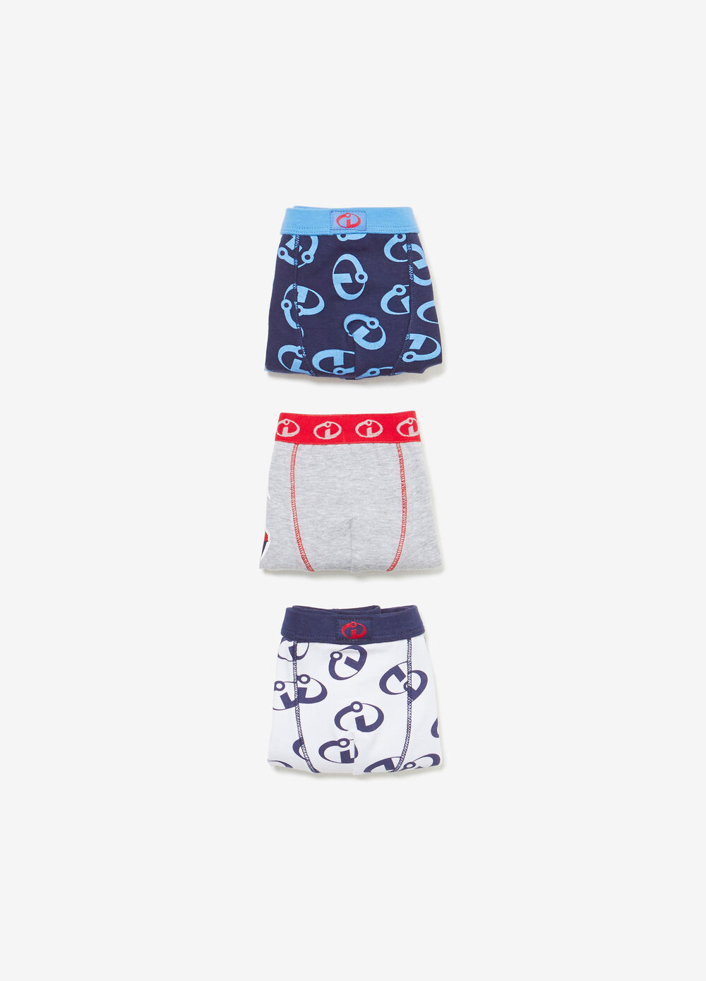 Set tre boxer cotone The Incredibles