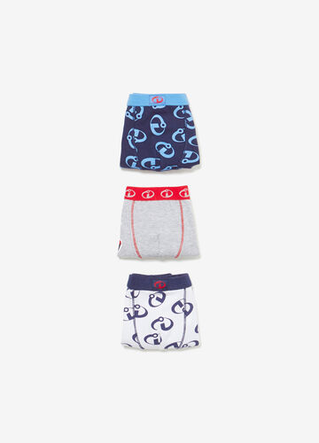Three-pack cotton The Incredibles boxer shorts