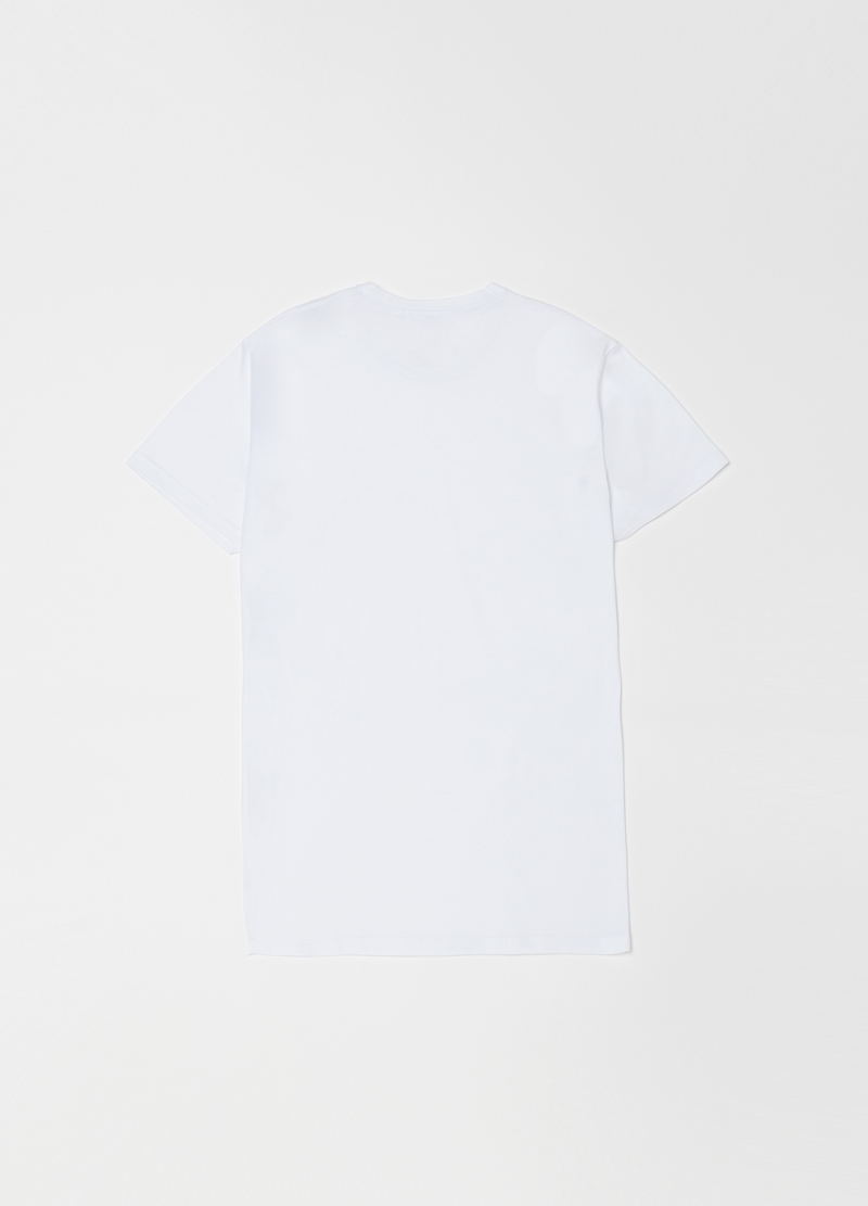 100% cotton undershirt with round neck image number null