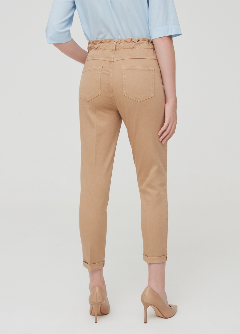 Pantaloni skinny fit con tasche image number null