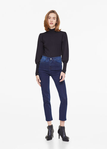 Soft slim-fit stretch jeans