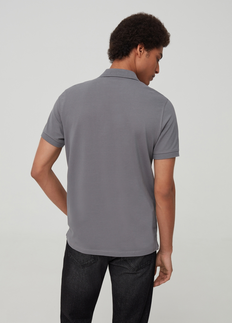 100% Supima cotton polo shirt image number null