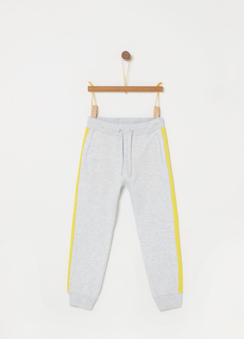 Everlast mélange trousers with pockets