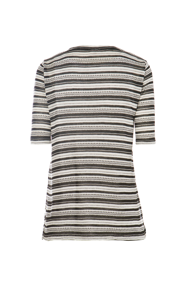 Smart Basic striped T-shirt image number null