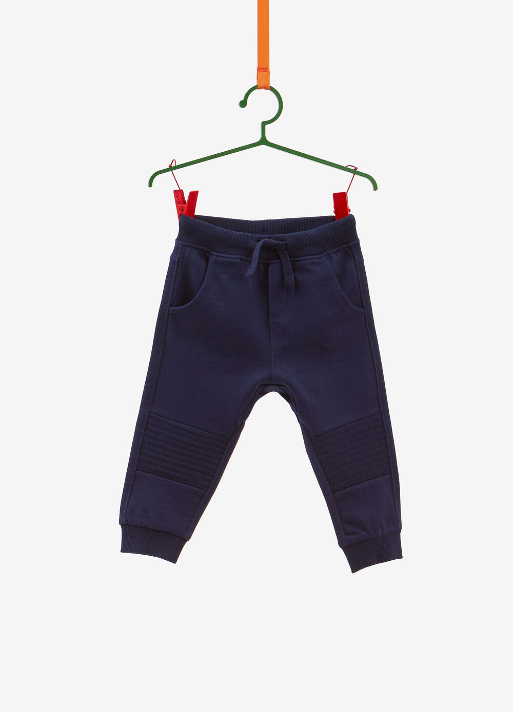 100% cotton trousers with insert