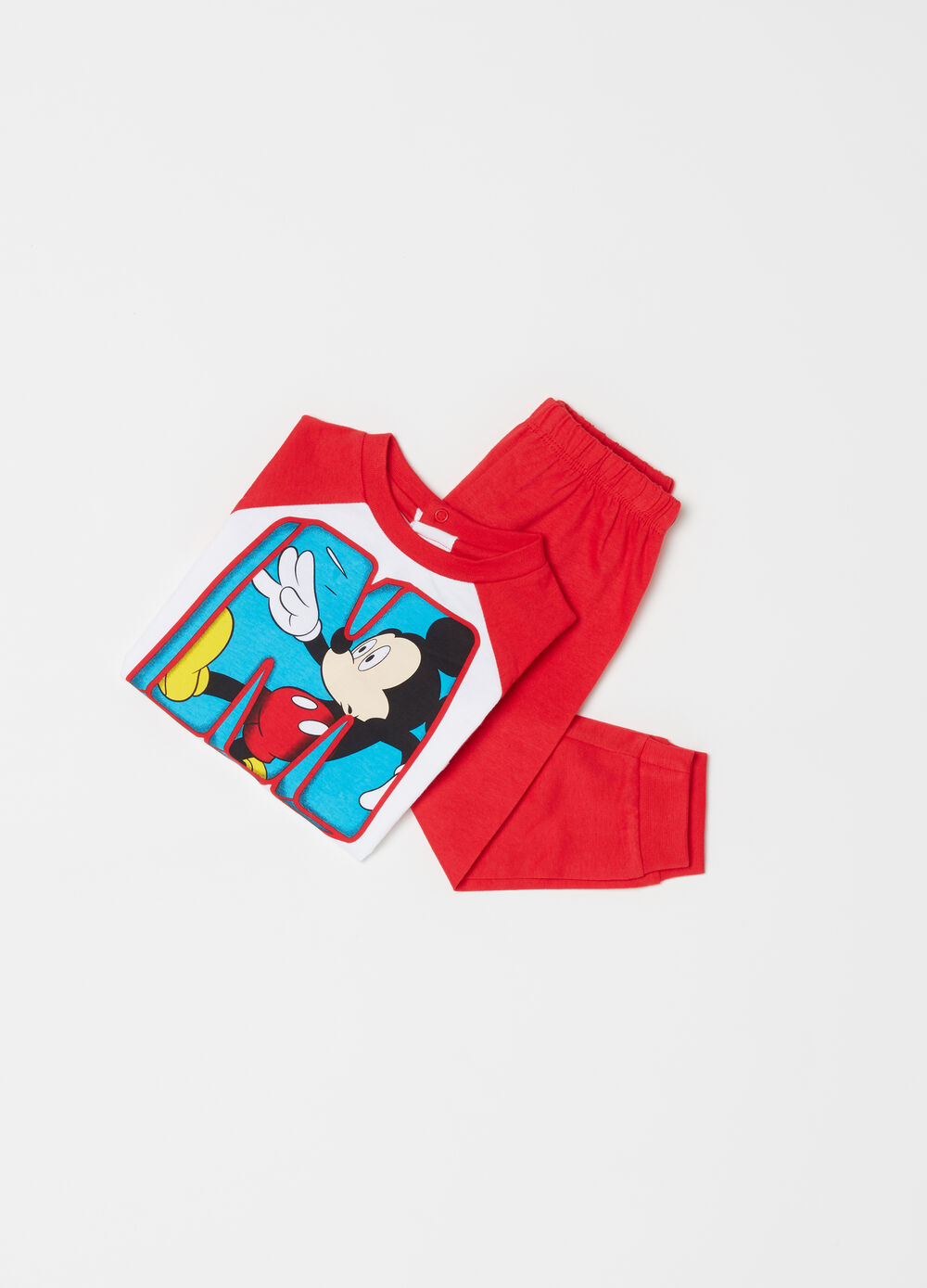 Mickey Mouse full-length pyjamas in 100% cotton
