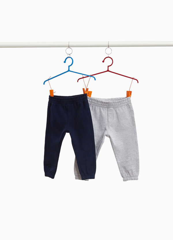Two-pack joggers with pocket