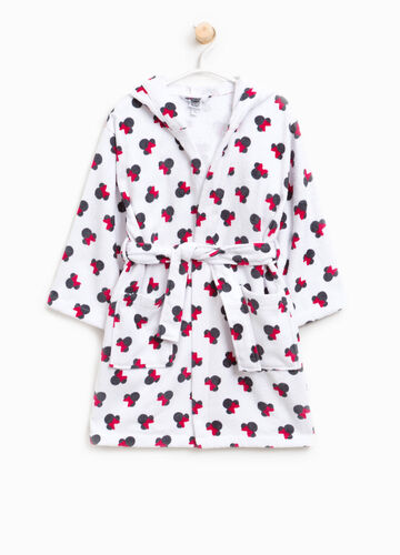 100% cotton Minnie Mouse bathrobe