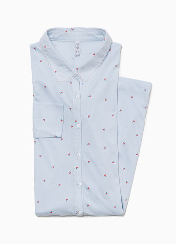 Cherry patterned nightshirt