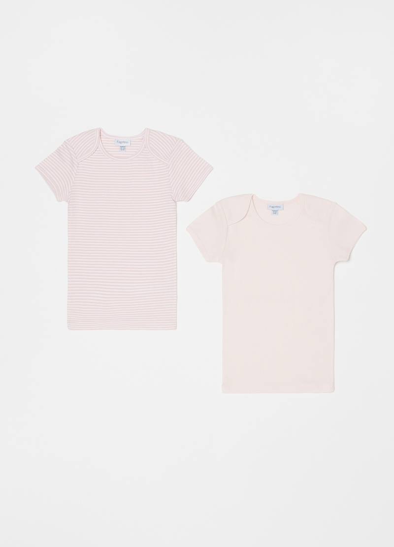 Two-pack 100% cotton undershirts image number null