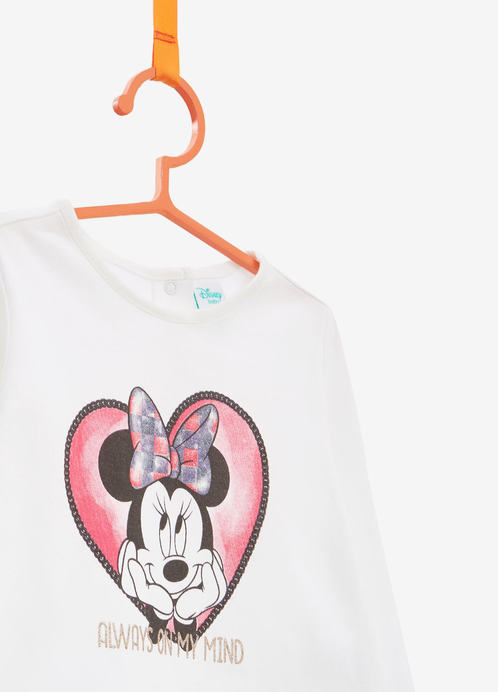 Minnie Mouse T-shirt in 100% cotton