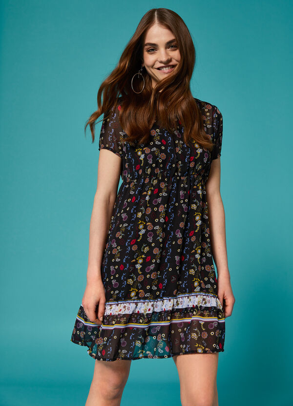 K+K for OVS floral dress with lining
