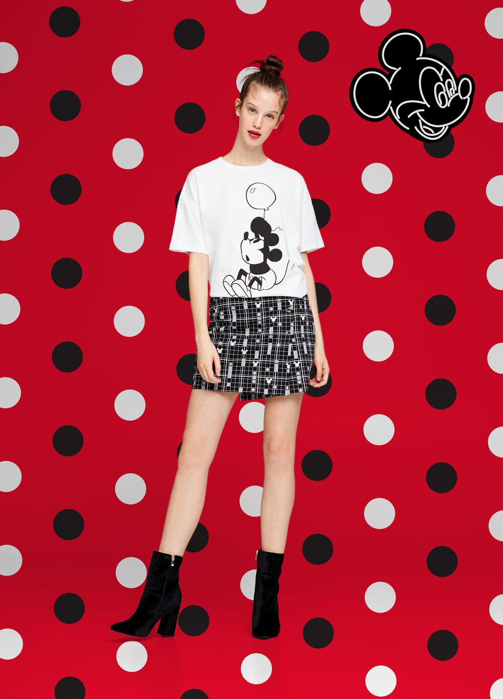 Mickey Mouse wrap skirt