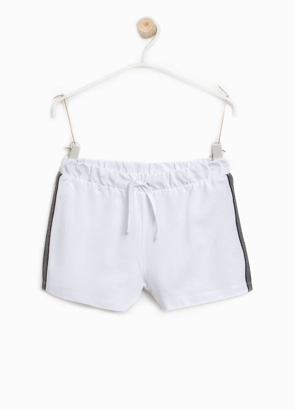 Shorts with striped side bands | OVS