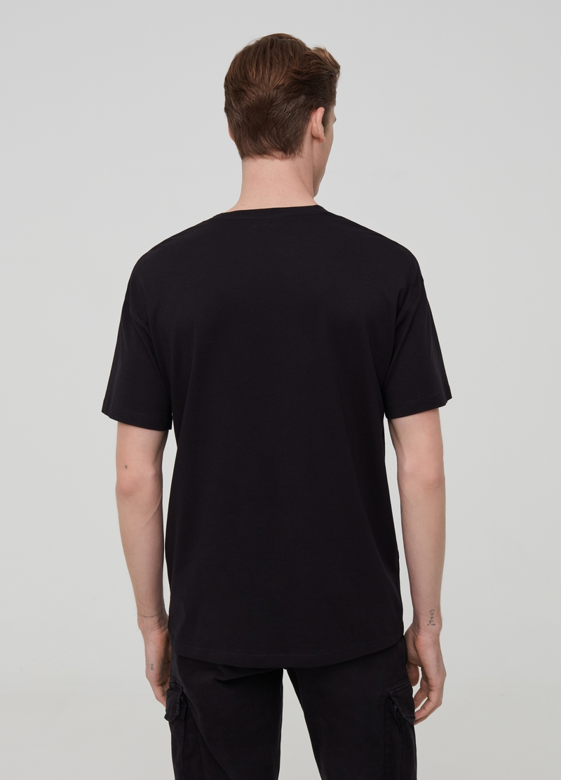 T-shirt premium in cotone Supima boxy image number null
