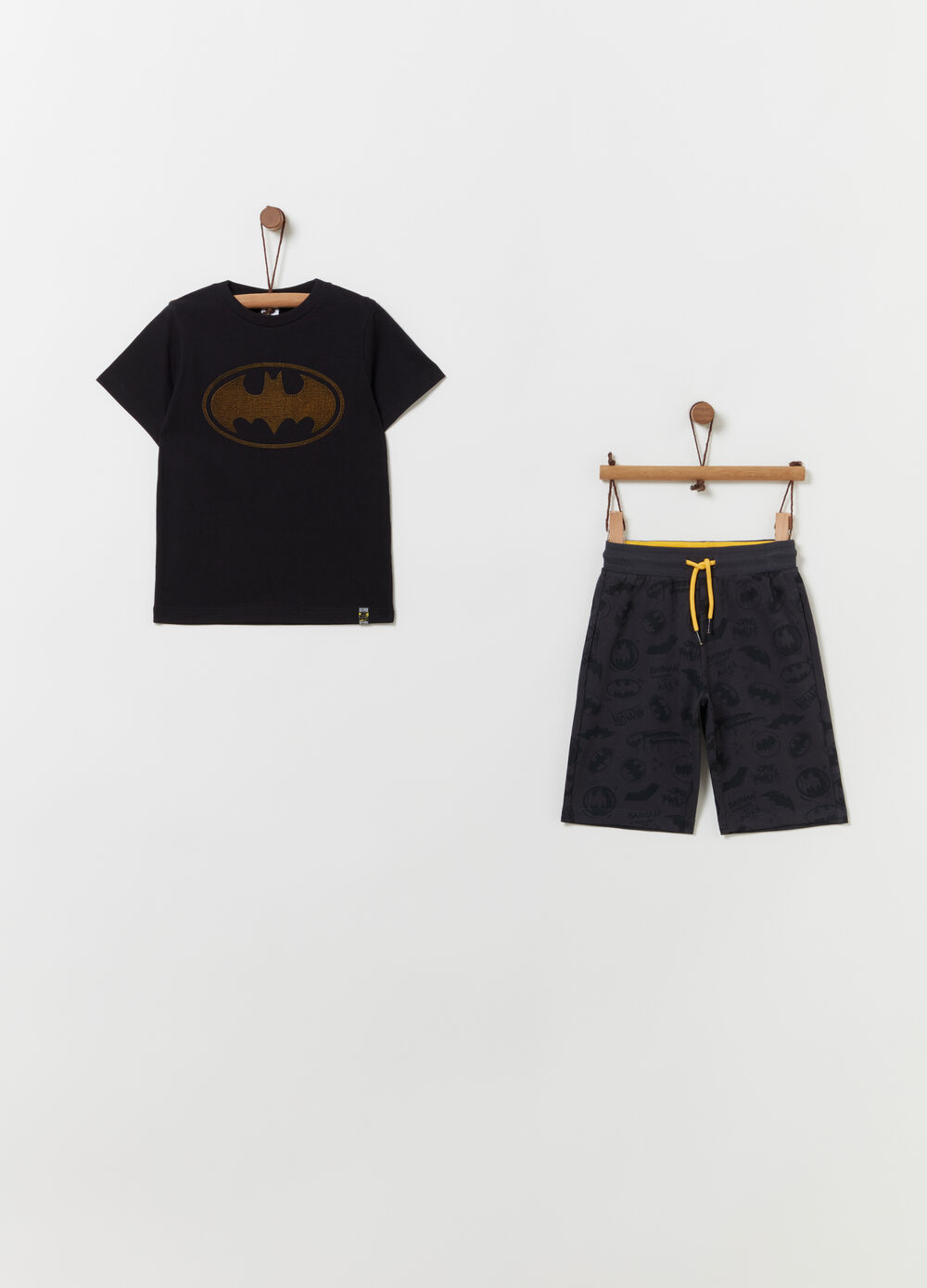 Jogging set t-shirt e shorts Batman
