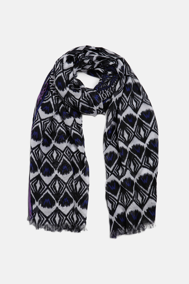 Patterned scarf image number null