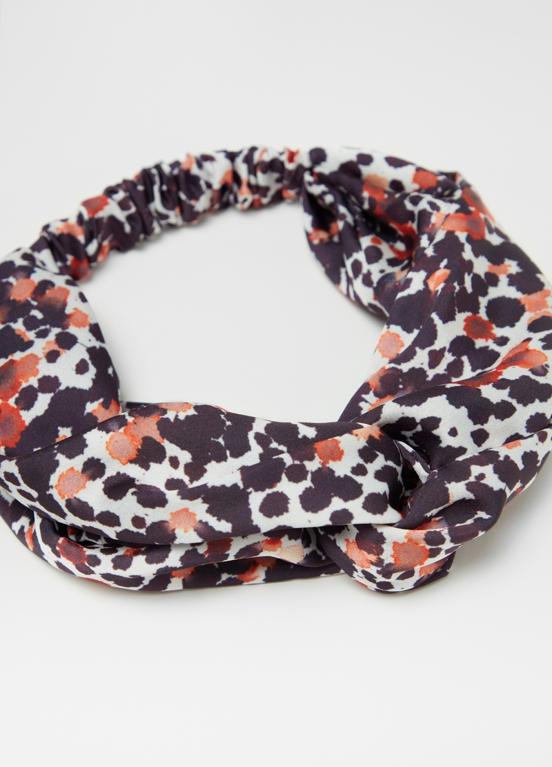 Headband with spotted pattern image number null