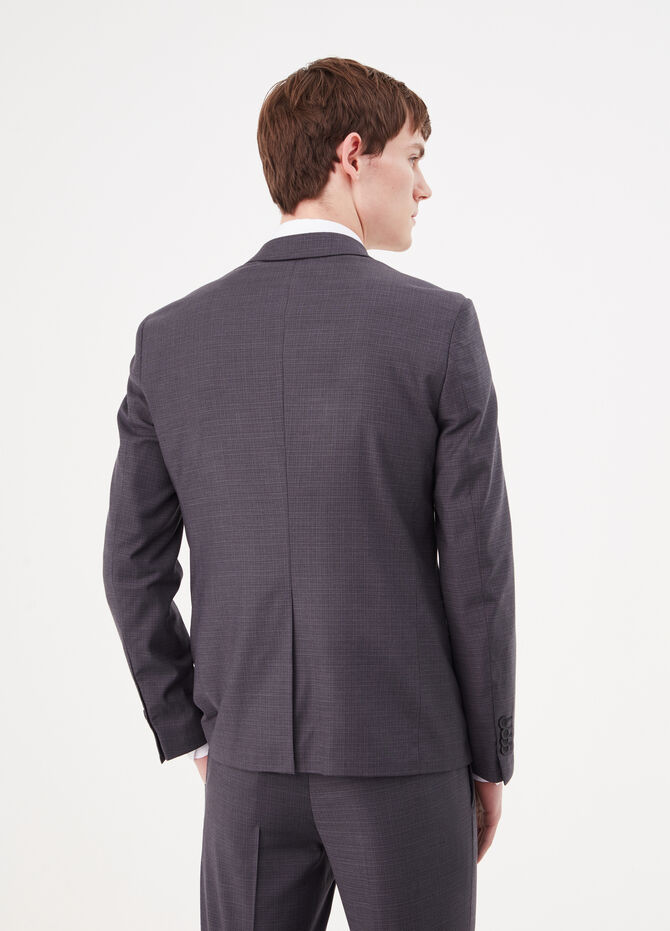 Blazer in stretch viscose blend