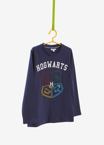 Cotton T-shirt with Harry Potter print