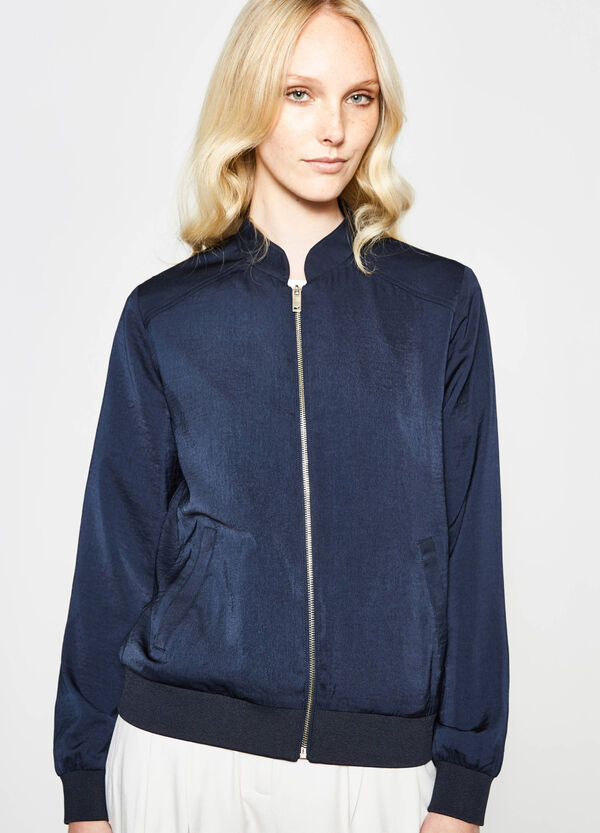 V-neck bomber jacket | OVS