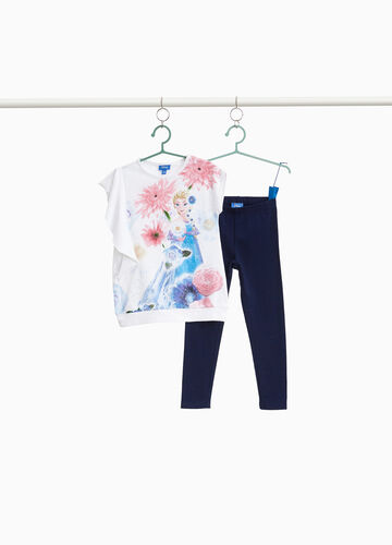 Stretch outfit with Frozen print