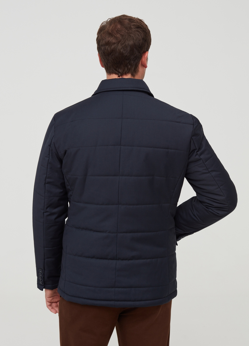 PIOMBO padded and quilted jacket image number null