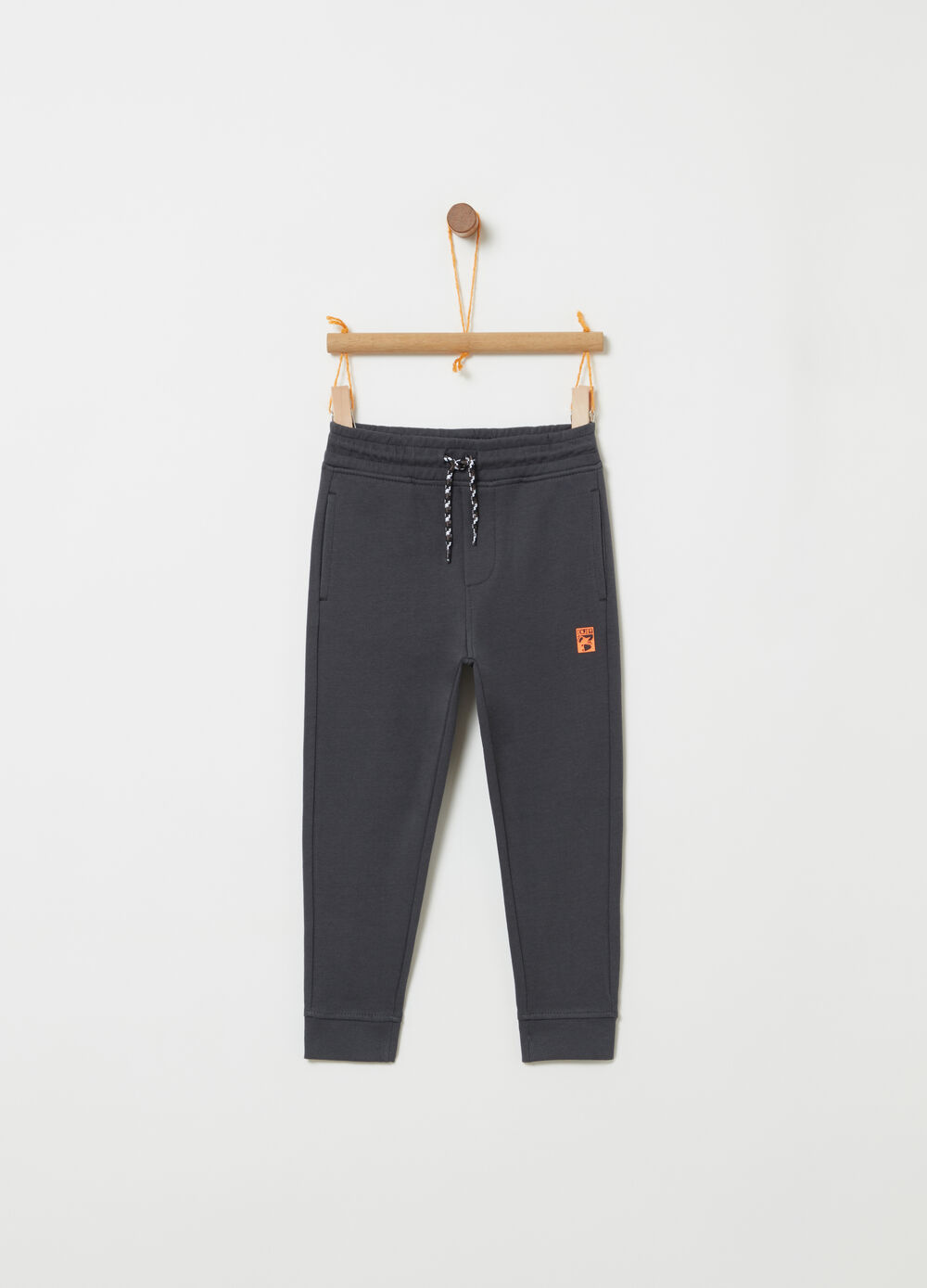 Lightweight fleece trousers with pockets