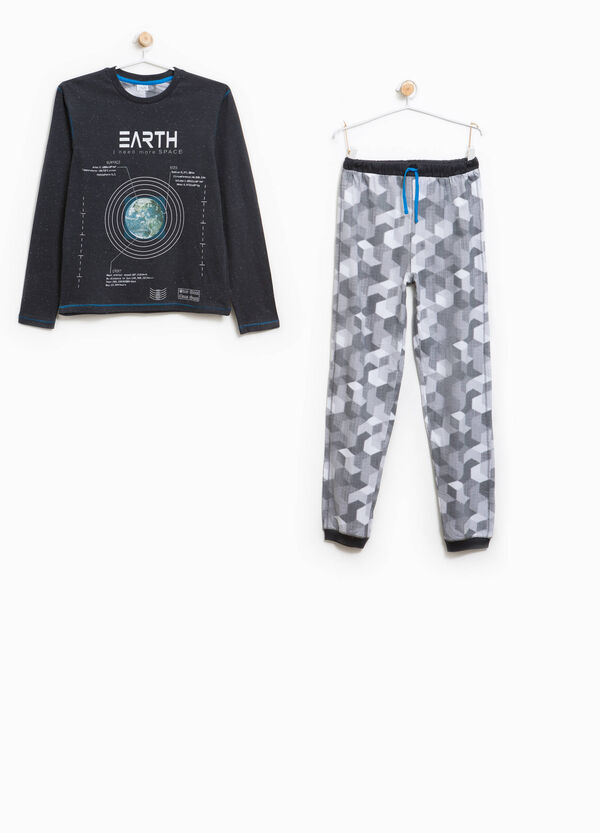 Patterned pyjamas with print | OVS